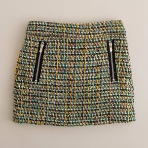 J.Crew Tweed Mini Skirt